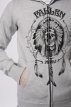 Толстовка Fallen Native Trip Zip Hood Heather Grey 2010 г артикул 8522y.