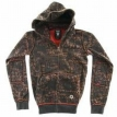 Толстовка Fallen Cobra Hood Fleeced Black/Oxblood/Vandal 2009 г артикул 8535y.