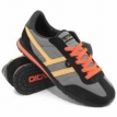 Обувь Adio Capri Black/Charcoal/Orange 2009 г артикул 9853y.